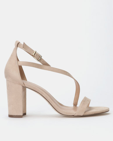 350700bf37e Call it Spring AZARIA Nude High Heeled Ankle Strap Sandal