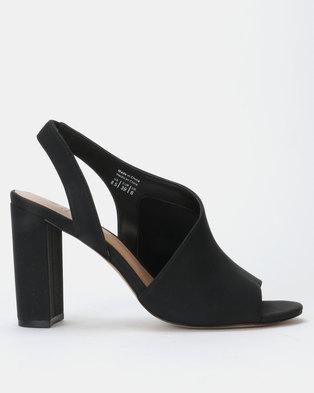 aa44b59dcdb8a Call it Spring SAMUAL Black Block Heel Slip On Sandal