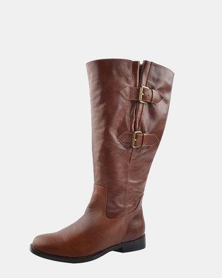 Julz Abigail Brown Boot