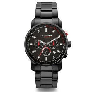 Lambretta Mens Watch Racing Steel Bracelet Black