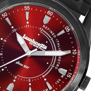 Lambretta Mens Watch Red Black