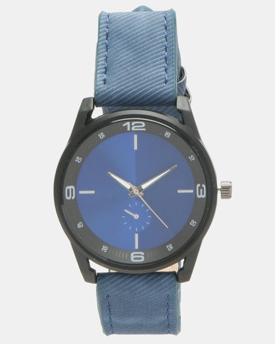You & I Understated Sports Lux Watch Blue