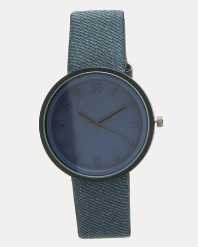 You & I Minimalist Sports Lux Watch Indigo