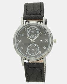 You & I Gentleman Vintage Watch Black