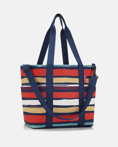 Reisenthel premium-quality polyester, water-repellent multibag artist stripes