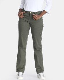 Contempo Khaki Cargo Trouser