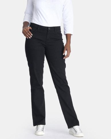 Contempo Black Cargo Trouser