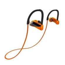 Moxom Extra Bass Bluetooth Waterproof  Wireless Sports Headset With Mic Orange