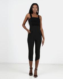 Vero Moda Chesty Sweet 7/8 Jumpsuit Black