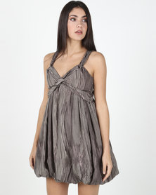Only Brown Milan Dress