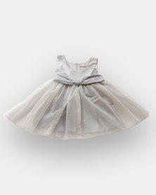 Pinkstardust Party Dress Silver-Grey