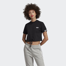 RUCHED TEE