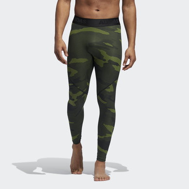 ALPHASKIN CAMOUFLAGE TIGHTS