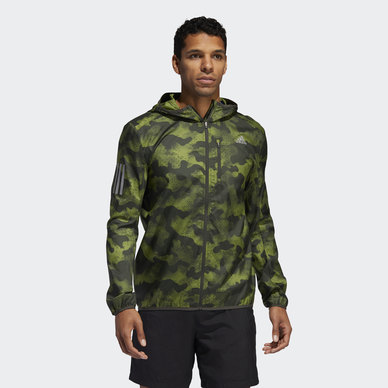 OWN THE RUN CAMOUFLAGE JACKET