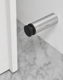 blomus Wall Mounted Door Stop Entra 8 cm Stainless Steel