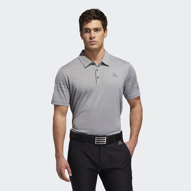 HEATHERED SPORT POLO SHIRT
