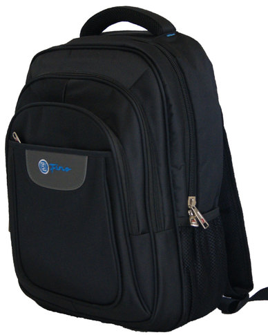 Fino 15 inch Laptop Backpack  - Black