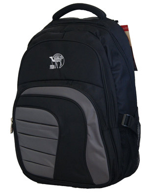 "Fino 17"" Laptop Backpack  - Black & Grey"
