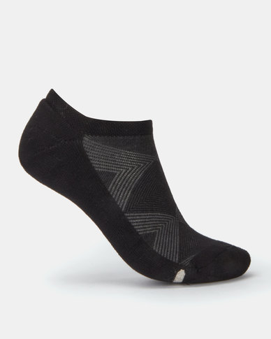Falke  Silver Cushion Ladies Sneaker Socks Black