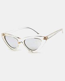 Naked Eyewear Katie Sunglasses Clear