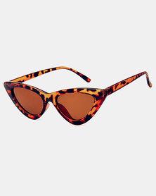 Naked Eyewear Katie Sunglasses Brown