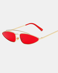 Naked Eyewear Kourtney Sunglasses Red