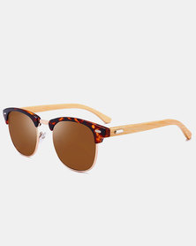 Naked Eyewear Lee Sunglasses Brown