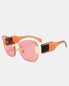 Naked Eyewear Tania Sunglasses Red