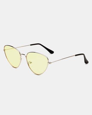Naked Eyewear Sally Sunglasses Yellow
