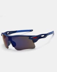 Naked Eyewear Sport Sunglasses Blue