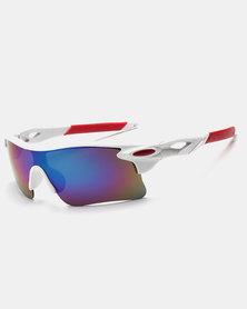 Naked Eyewear Sport Sunglasses White