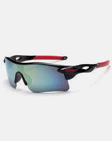 Naked Eyewear Sport Sunglasses Blue-Black