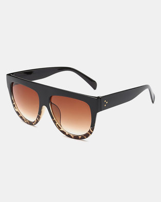 Naked Eyewear Selena Sunglasses Brown