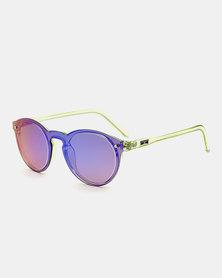 Naked Eyewear Sasha Sunglasses Purple-Blue