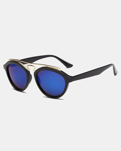 Naked Eyewear Tammy Sunglasses Black-Blue