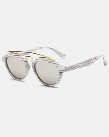 Naked Eyewear Tammy Sunglasses White