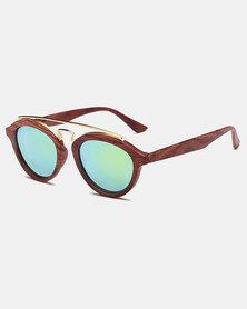 Naked Eyewear Tammy Sunglasses Brown