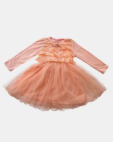 Pinkstardust Lace Tutu Dress Pink