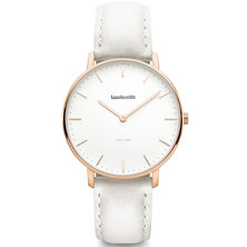 Lambretta Ladies Watch With Rose Gold White Grey