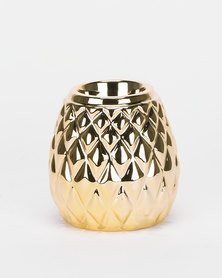 Utopia Decorative Candle Holder Gold