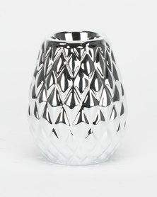 Utopia Decorative Candle Holder Silver
