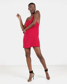 ONDINE Low Back Chiffon Dress