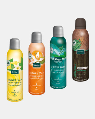 "Kneipp Shower Foam ""His & Her"" Set of 4"