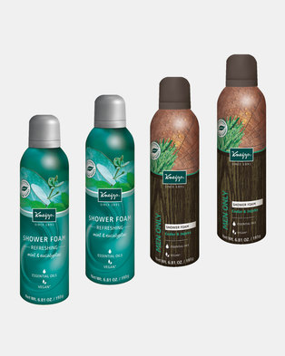 "Kneipp Shower Foam ""Man Up"" Set of 4"