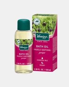 "Kneipp Bath Oil Juniper ""Muscle Soothing"" 100 ml"