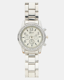 Miss Maxi Luxe Silver Watch