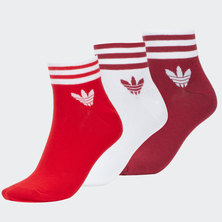 STRIPES ANKLE SOCKS 3 PAIRS