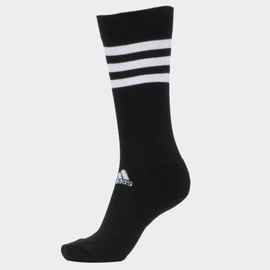3-STRIPES CUSHIONED CREW SOCKS 3 PAIRS