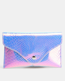 Utopia Mermaid Holographic Belt Bag