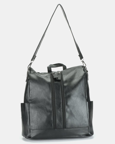 Utopia Multistrap Handbag Black